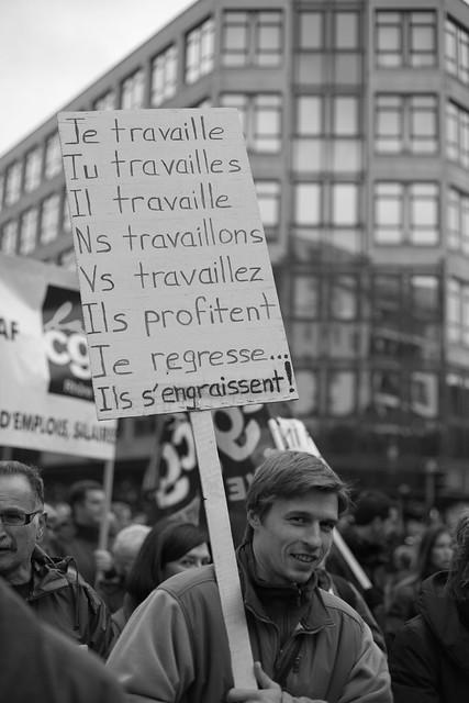 Lyon - Manifestation contre le projet de réforme des retraites