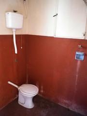 Banheiro prédio da Bica de Pedra