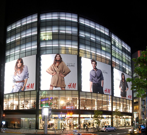 H&M store in Shibuya district of Tokyo | by Ivan Mlinaric