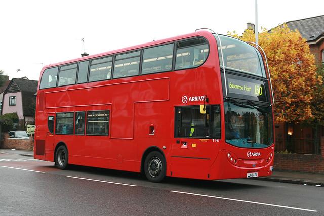 Arriva T191 (Arriva London North) LJ60ATU