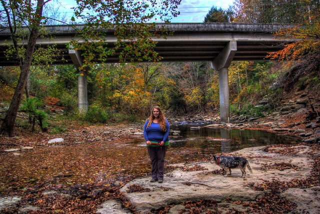 Alexis and Athena Lienhart, Roaring River, Overton Co, TN