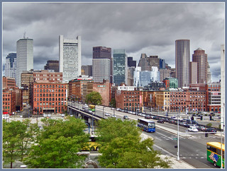 Boston skyline | by Bert Kaufmann