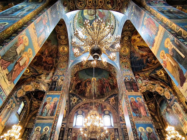 Church of the Spilt Blood  SAINT PETERSBURG, RUSSIA