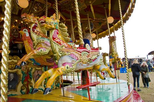 Merry-Go-Round Carousel at Great Dorset Steam Fair