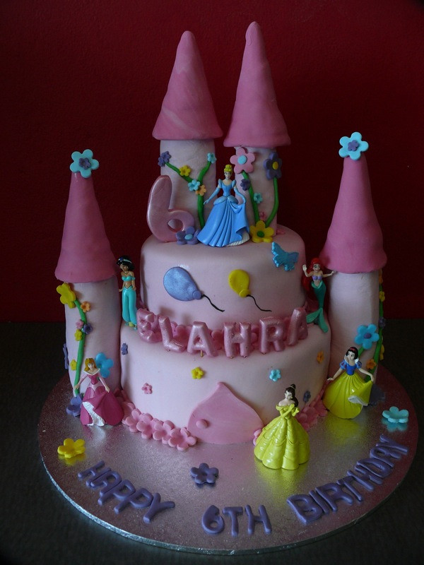 Disney Princess Castle Cake 3d Edible Towers
