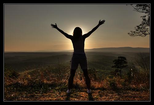 blue light sunset mountains girl beautiful magic maryland westvirginia landscapesdreams