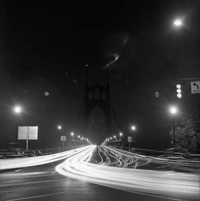 St. Johns Bridge, study 5