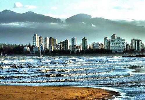 english beach bay kitsbeach vancouverearlymorningstormwindylosy losyphotography