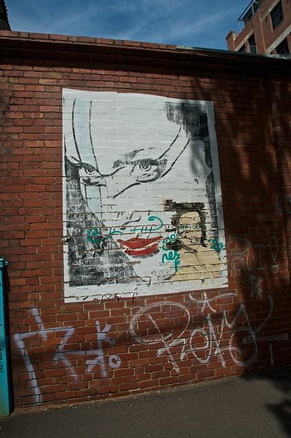 Street Art, Gore Street, Collingwood nº  1