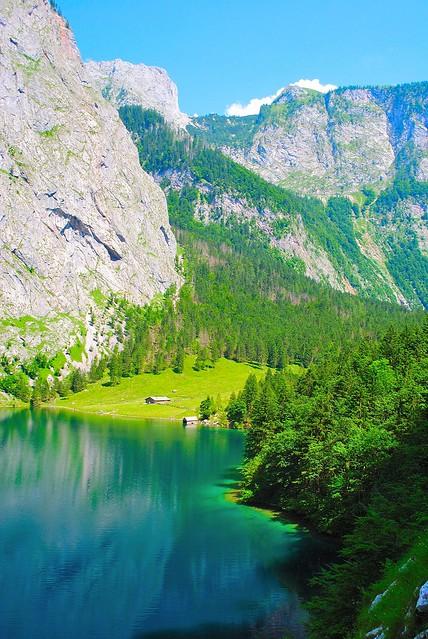 Obersee, Fischunkel Alm, Bavaria