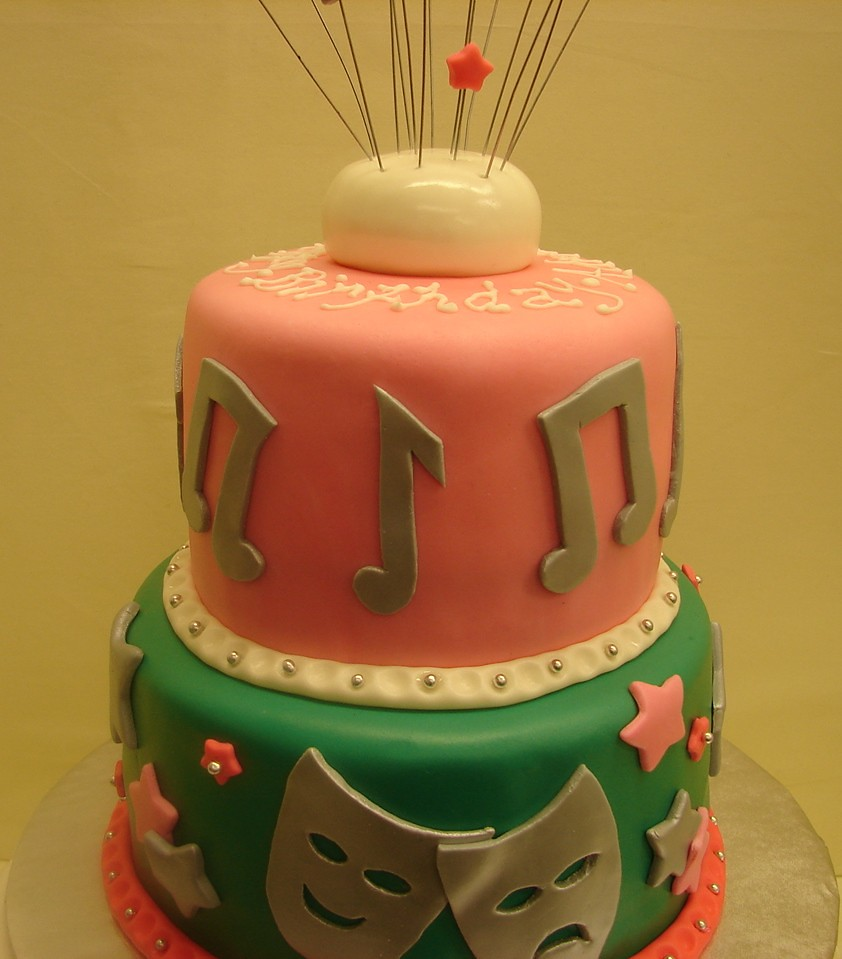 Phenomenal Drama Music Birthday Cake Drama Acting Music Themed Bi Flickr Funny Birthday Cards Online Alyptdamsfinfo