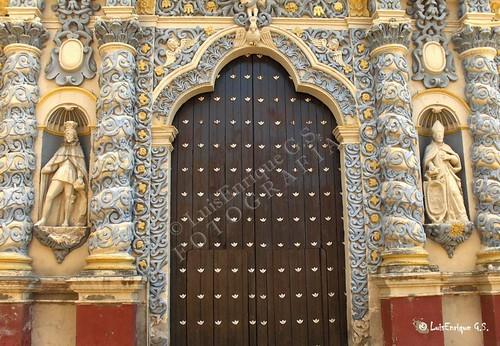 Iglesia  de Nuestra Sra de la Merced - Atlixco - Puebla - México