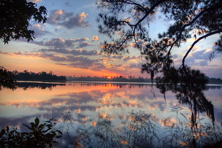 Sunrise 2 @ Indian Creek Recreation Area, Woodworth, Louisiana | by finchlake2000