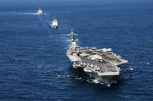 USS George H.W. Bush action [Image 1 of 10] | by DVIDSHUB