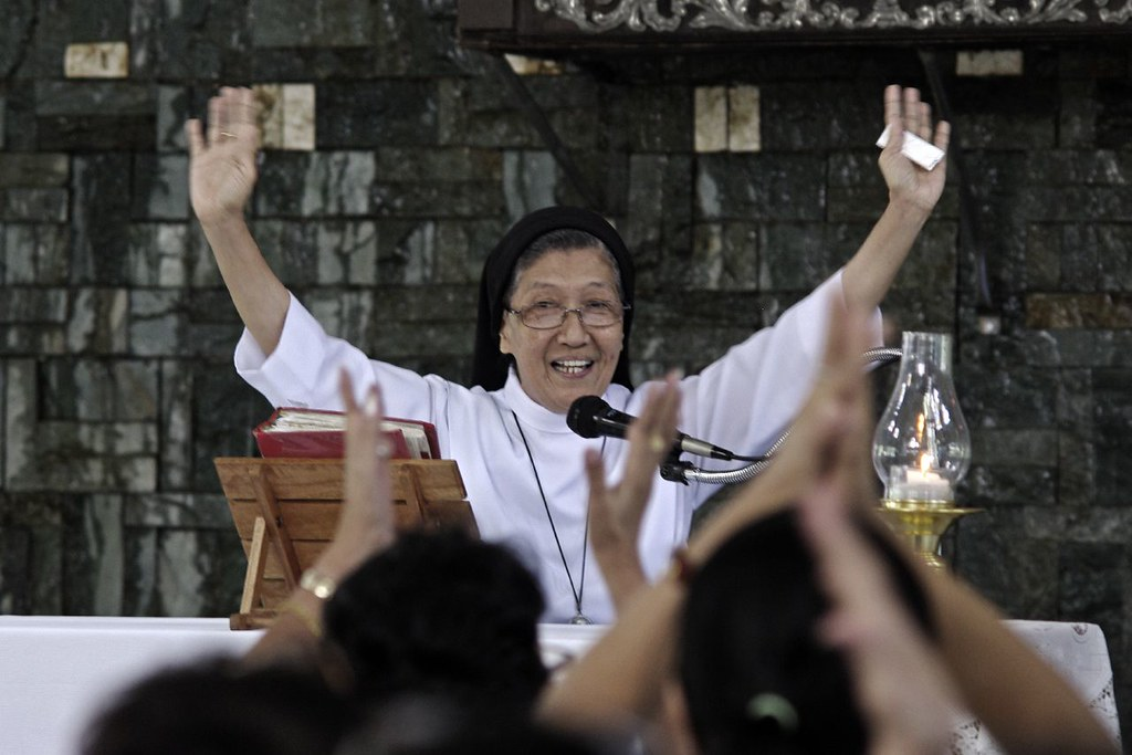 Image result for Sister Raquel Reodica,