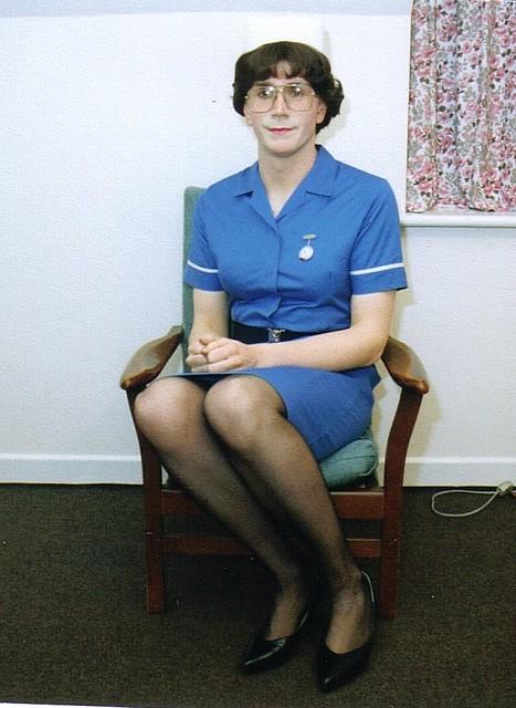 Nurse sitting