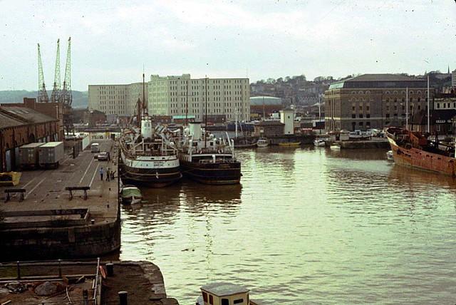 Bristol Docks 1981
