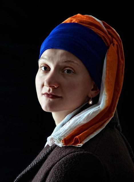 Olga with Pearl Earring