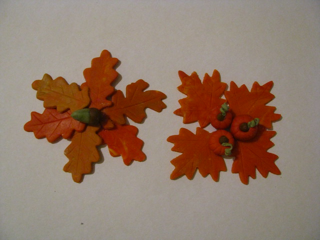 autumn fondant