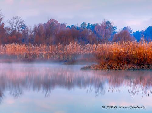 travel lake fog sunrise nikon northcarolina raleigh cary crabtree d90