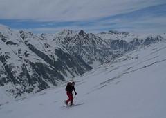 Čím výše jsme stoupali nad údolí Val Maisas, tím lepší byl pohled na okolní hory