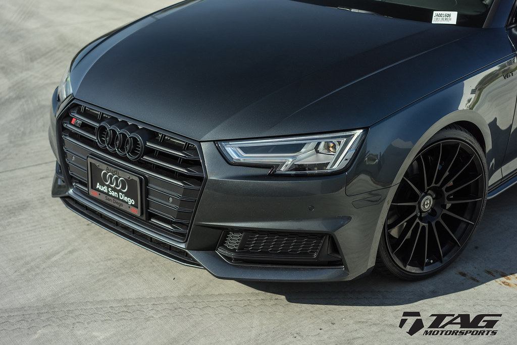 Audi S4 Black Optics Package | Audi S4 equipped with TAG Cos… | Flickr