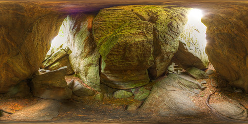 Inside the cave of wonders! - Equirectangular in Duschenay | by haban hero