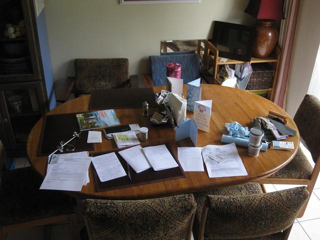 100629 dining room table stuff IMG_6713