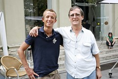 2010. augusztus 13. 14:44 - Bíró Attila és Tímár Péter a Zimmer Feri 2. forgatásán