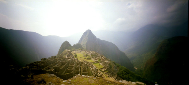 Machu Picchu en Holga 120 WPC #3
