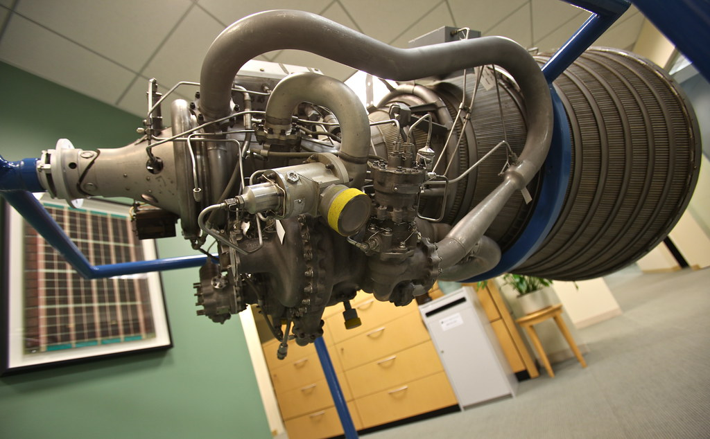 PRATT & WHITNEY RL-10 ROCKET ENGINE | First developed in 195