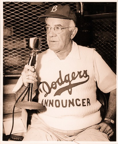 1955 Tex Rickard Brooklyn Dodgers PA Announcer.jpeg