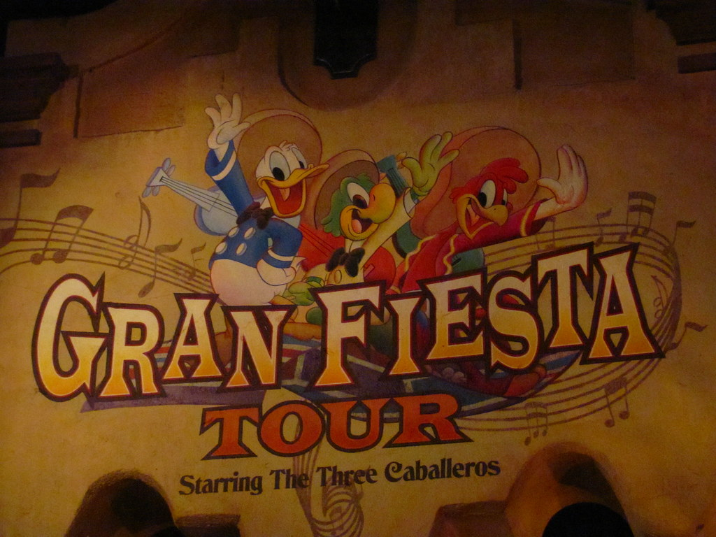 The Gran Fiesta Tour starring the Three Caballeros at the … | Flickr