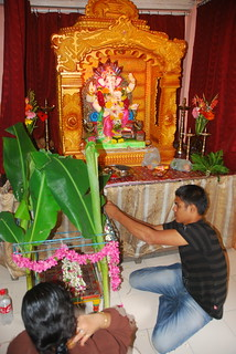 Satyanarayan Puja Preparation | From Wikipedia, the free enc