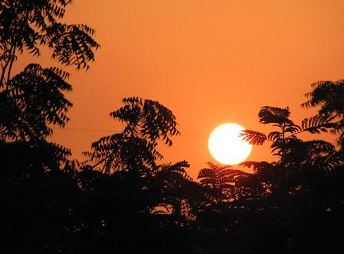 sunset orange india beautiful canon spectacular powershot september gujarat ahmedabad 2010