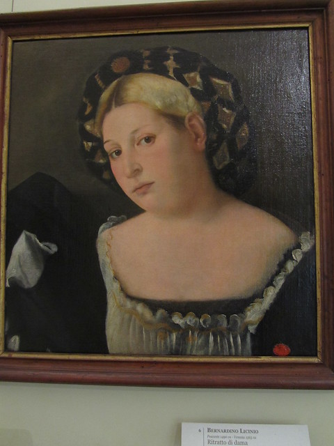 """Portrait of a Woman with """"l'Acconciatura detta 'il Balzo'"""""""