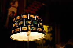 photo slide lamp