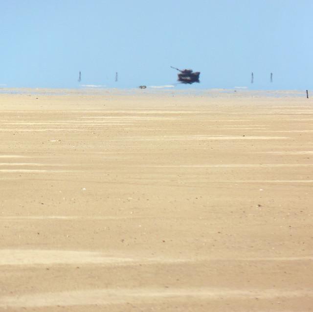 Warzone in the Dutch Sahara