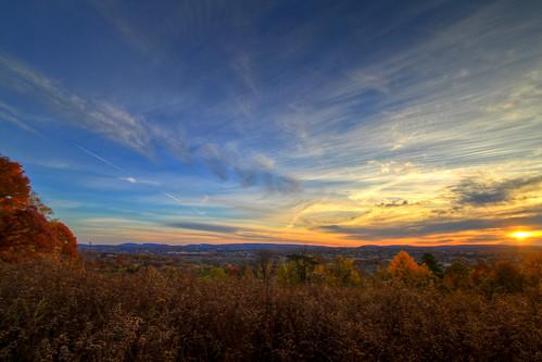 sunrise landscape connecticut wideangle 1022mm hdr wallingford