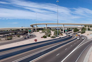 """Mini Stack"" Interchange of Interstate 10, Loop 202, and State Route 51 (7-Cropped) 