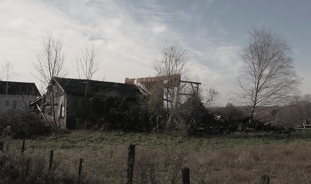 Preston Avenue barn remains