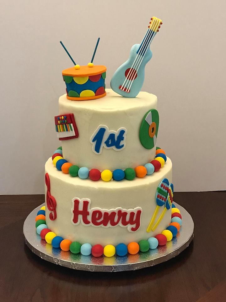 Awe Inspiring Music Themed Birthday Henry Cake Lady Wpb Flickr Funny Birthday Cards Online Alyptdamsfinfo