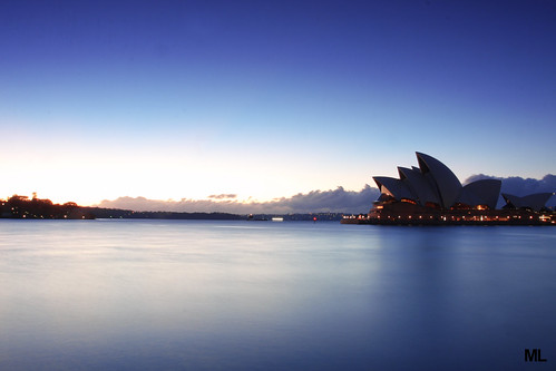 longexposure morning sunrise blues operahouse gnd