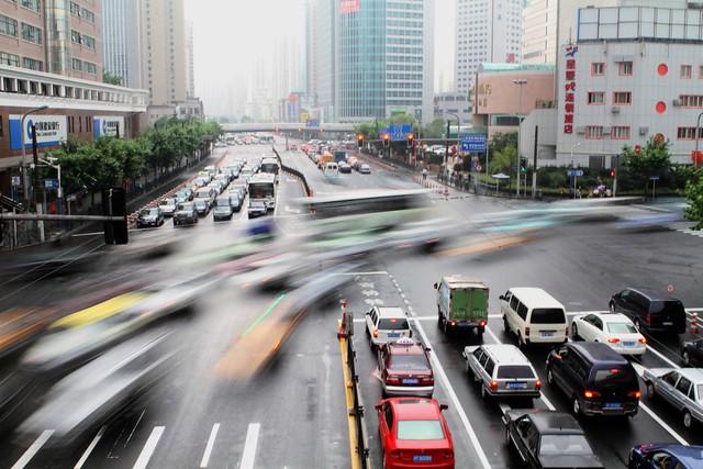 Shanghai's so busy