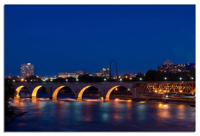 Stone Arch Bridge - Minneapolis