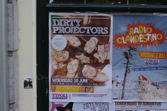 Dirty Projectors poster at Tivoli