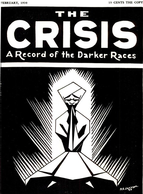 The Crisis Magazine Cover - February, 1930