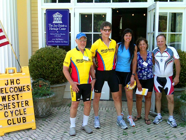 Members of the Westchester Cycle Club