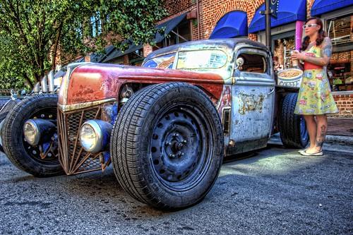 truck nc nikon rat northcarolina pickup pickuptruck hotrod hdr winstonsalem topaz ratrod hrw photomatix kustomkulture heavyrebelweekender dougjohnson d700 topazadjust hdrcreativeshots