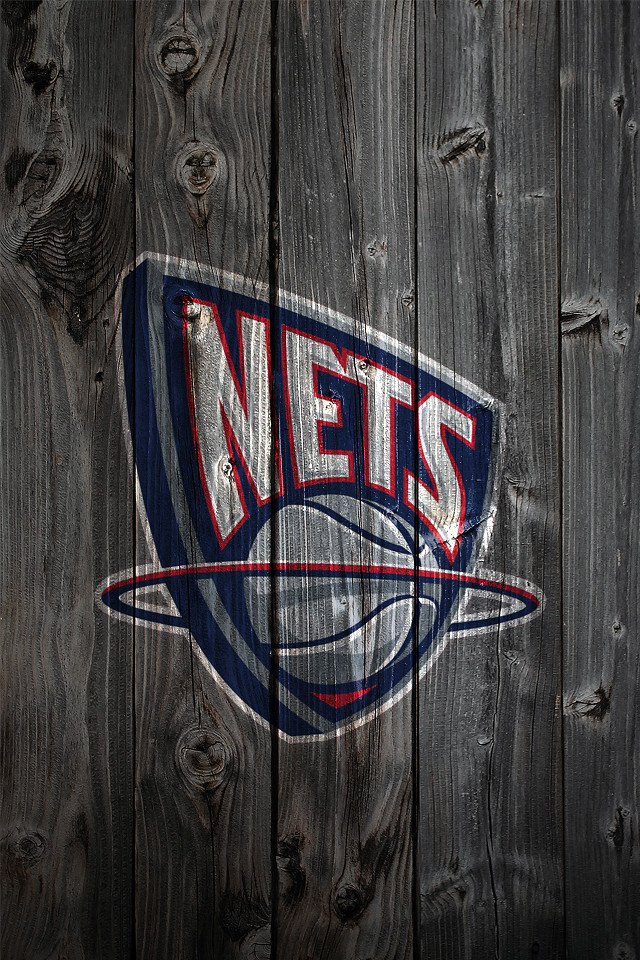 san francisco 4fdb4 490f9 New Jersey Nets Wood iPhone 4 Background | Kristopher Legg ...